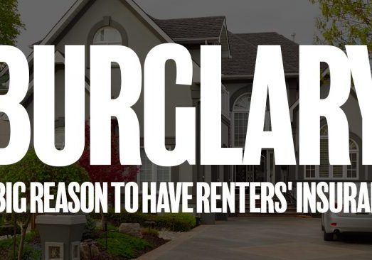 Burglary A Big Reason to Have Renters' Insurance