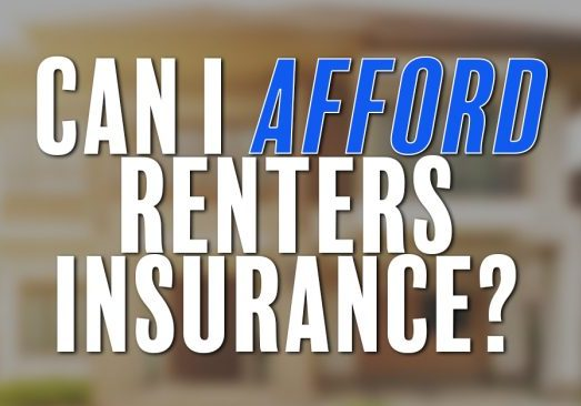 Can I Afford Renters Insurance_