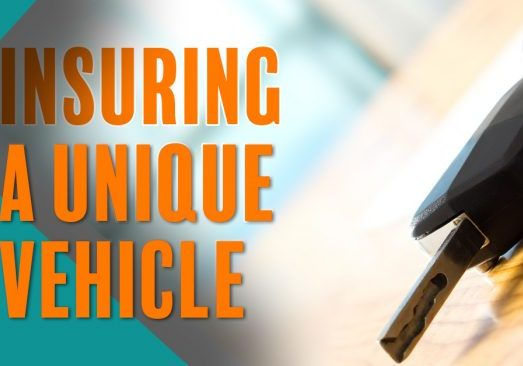 Insuring a Unique Vehicle_